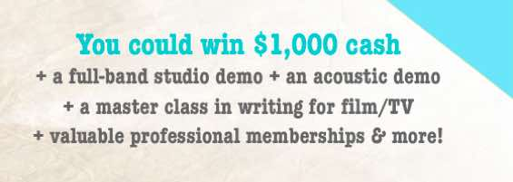 SongDoor Songwriting Contest